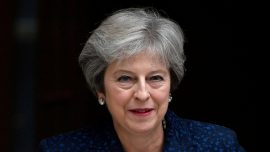 UK PM May Cautions: Support My Brexit Deal or Face No Deal