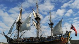 Captain Cook's HMS Endeavour 'Discovered' Off United States Coast