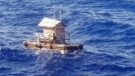 Teenager Survives 49 Days Adrift on Fishing Shack