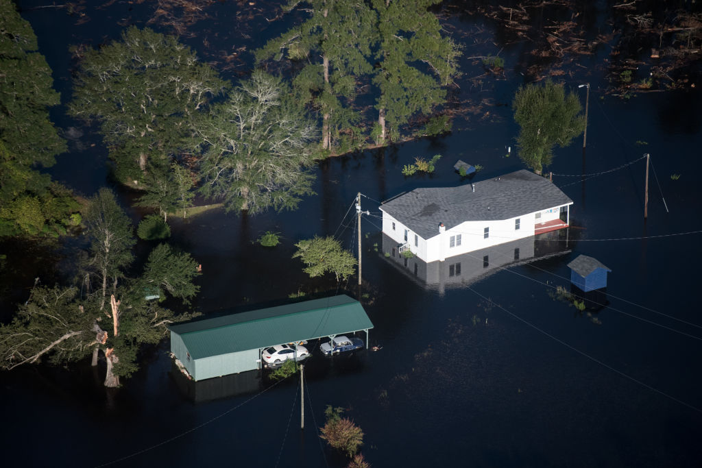Carolinas Face Flooding After Hurricane Florence