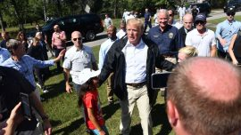 Trumps Travels to North, South Carolina to See Florence-Damaged Areas