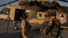 Afghan Military Helicopter Crashes, Kills All Five Aboard