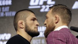 UFC's McGregor Offers Khabib Whisky And Blasts His Manager as 'Terrorist Snitch'