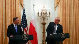 Trump Says US Will Send 1,000 More Troops to Poland