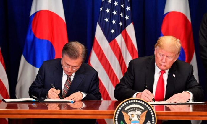 Us South Korea Sign Revised Free Trade Agreement