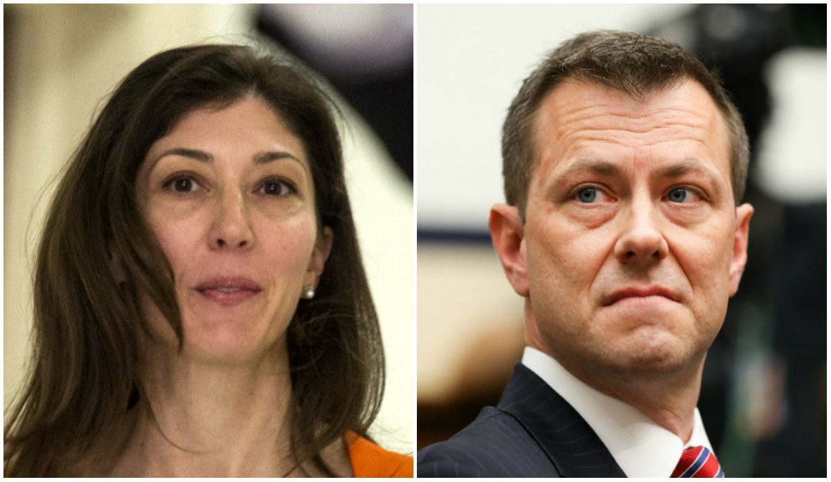 Strzok and Page