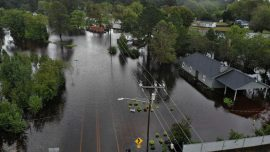 Drivers Told to 'Go Around' North Carolina Due to Flooded Roads