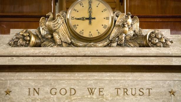 In God We Trust motto