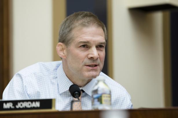Jim Jordan speaks at a hearing on Capitol Hill.