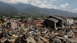 1-Year-Old Girl Found Buried Alive After Tsunami Hits Indonesia