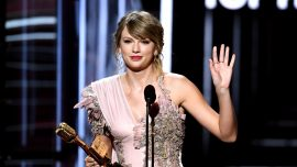 Taylor Swift Responds After Car Crashes Into Gate of Her Rhode Island Home