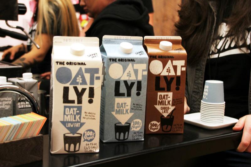 oat milk at new york coffee festival