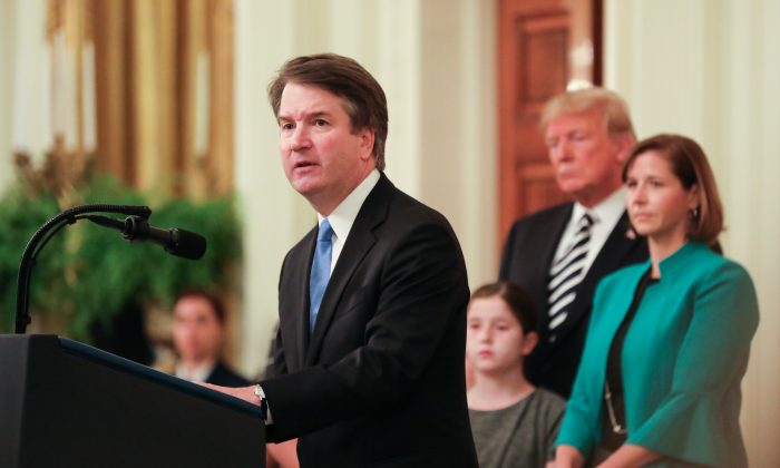 Info rebutting Kavanaugh accuser held by NBC
