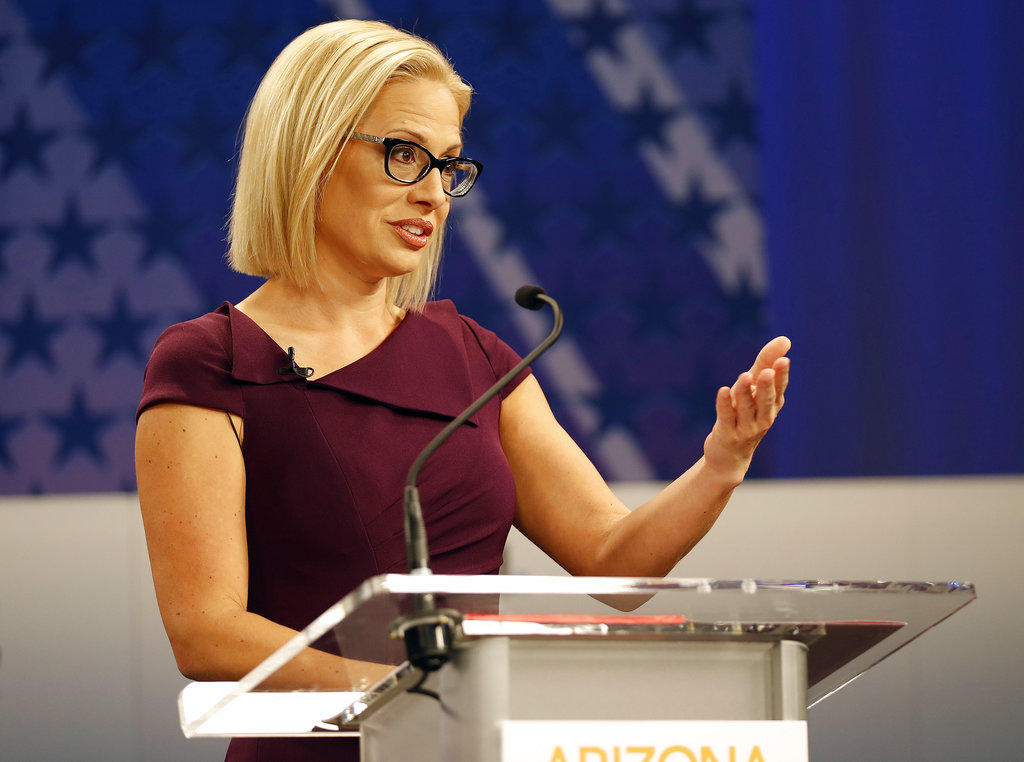 Kyrsten Sinema in debate