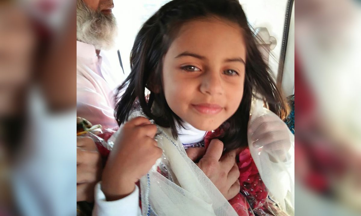 An undated photo of murdered Zainag Ansari,6.