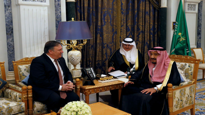 Pompeo meets Saudi king on Khashoggi case