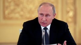 Putin Warns Europe of 'Counterstrike' if United States Deploys New Missiles