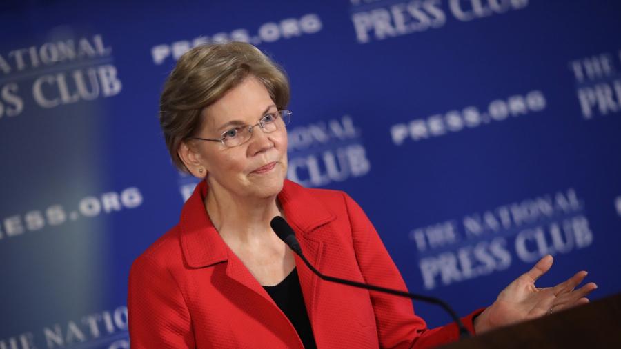 Presidential Hopeful Elizabeth Warren Pushes to Abolish Electoral College