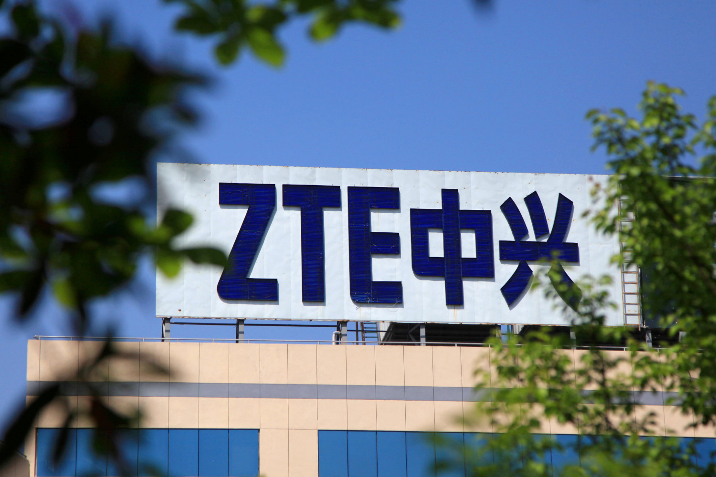 Logo of China's ZTE Corp