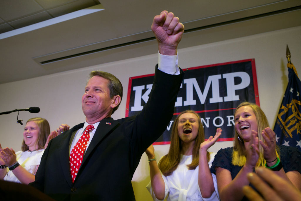 Brian Kemp says he won gubernatorial race