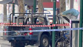 Melbourne Terror Attack: Man Shot Dead After Fire and Fatal Stabbing
