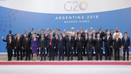 Trump Meets Argentine's President at the G20 Summit