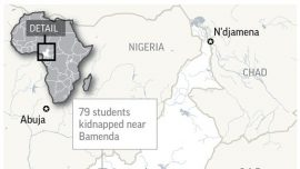 Armed Men Kidnap 79 School Students in Northwest Cameroon