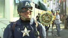 Fans Pay Tribute to Stan Lee at His Hollywood Walk of Fame Star