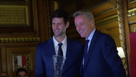Tennis Stars Hold Court in Houses of Parliament