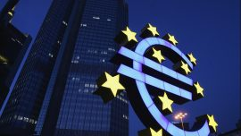 With European Economy in Record Drop, Central Bank Gives Aid