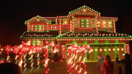 Man in Colorado Covers House in Christmas Lights