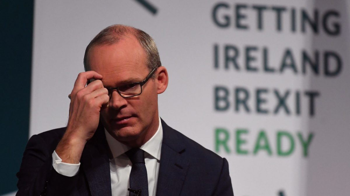 Ireland's Minister Simon Coveney
