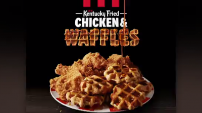 KFC Announces Chicken and Waffles, Only Available for a Limited Time
