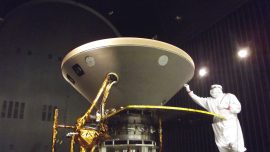 NASA Spacecraft Lands on Red Planet After 6-Month Journey
