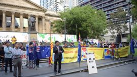 Protest Calls for China's Belt and Road Agreement With Victorian Labor Govt to Be Cancelled