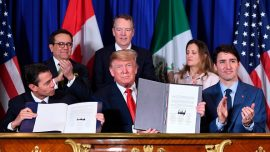 US, Canada, Mexico Sign the New Trade Deal at G20