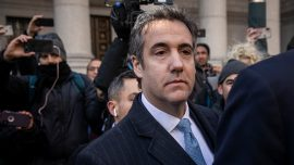 Former Trump Attorney Michael Cohen Pleads Guilty to Lying to Congress
