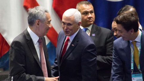 Pence Slams China's 'Empire and Aggression' in Asia