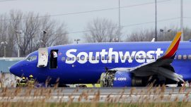 Taxiing Plane Strikes Wing of 2nd Plane, no Injuries