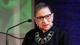 Supreme Court Justice Ruth Bader Ginsburg Misses Arguments Because of Illness