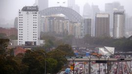 Australia Storms Turn Sydney Streets Into Rivers, Causing Commuter Chaos