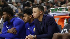 Warriors Star Steph Curry Not Injured After Multicar Wreck