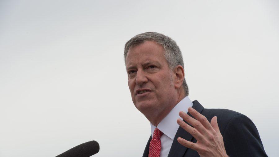 NYC Mayor Bill de Blasio, Citing 'Socialistic Impulse,' Wants More Government Control of Property