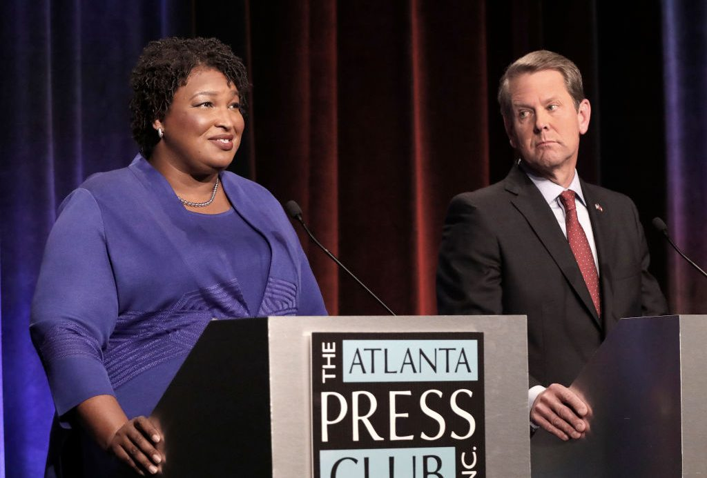 Georgia gubernatorial candidates (L-R) Clash in First Debate
