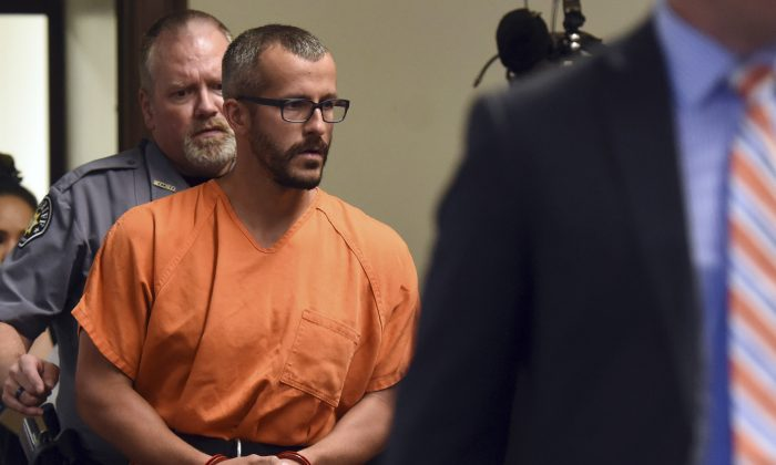 chris watts in court