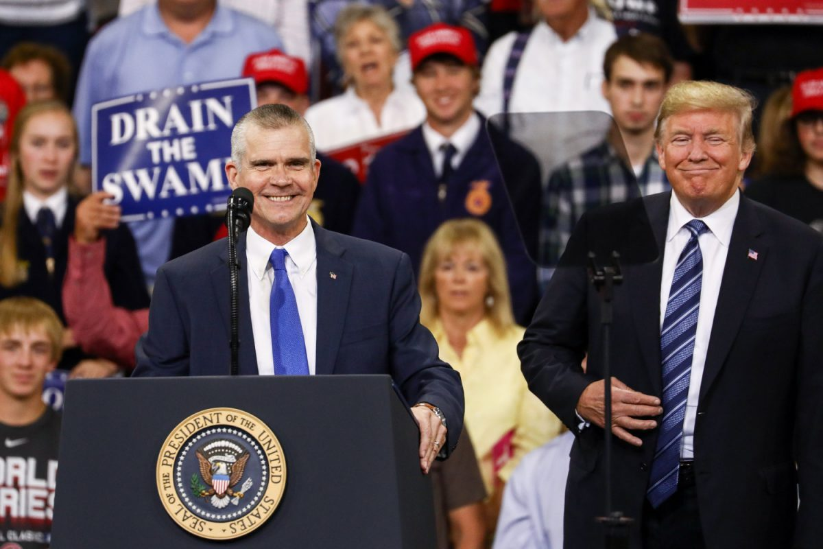 matt rosendale with trump