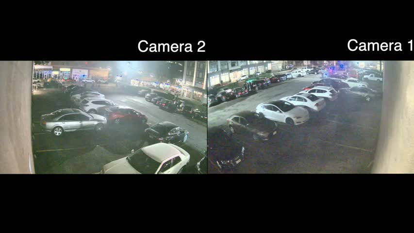 Parking lot cameras show Patrick Kimmons shooting