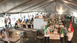 A New Guinness World Record for Most Pizzas Made