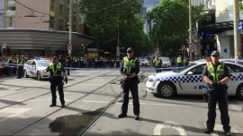 Melbourne Grateful to 'Trolley Man' Who Confronted Bourke Street Attacker
