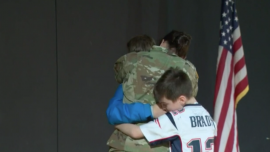 Army Mom Surprises Sons With Reunion Before Holidays